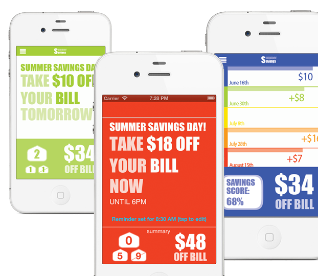 Chai Energy Summer Saver app