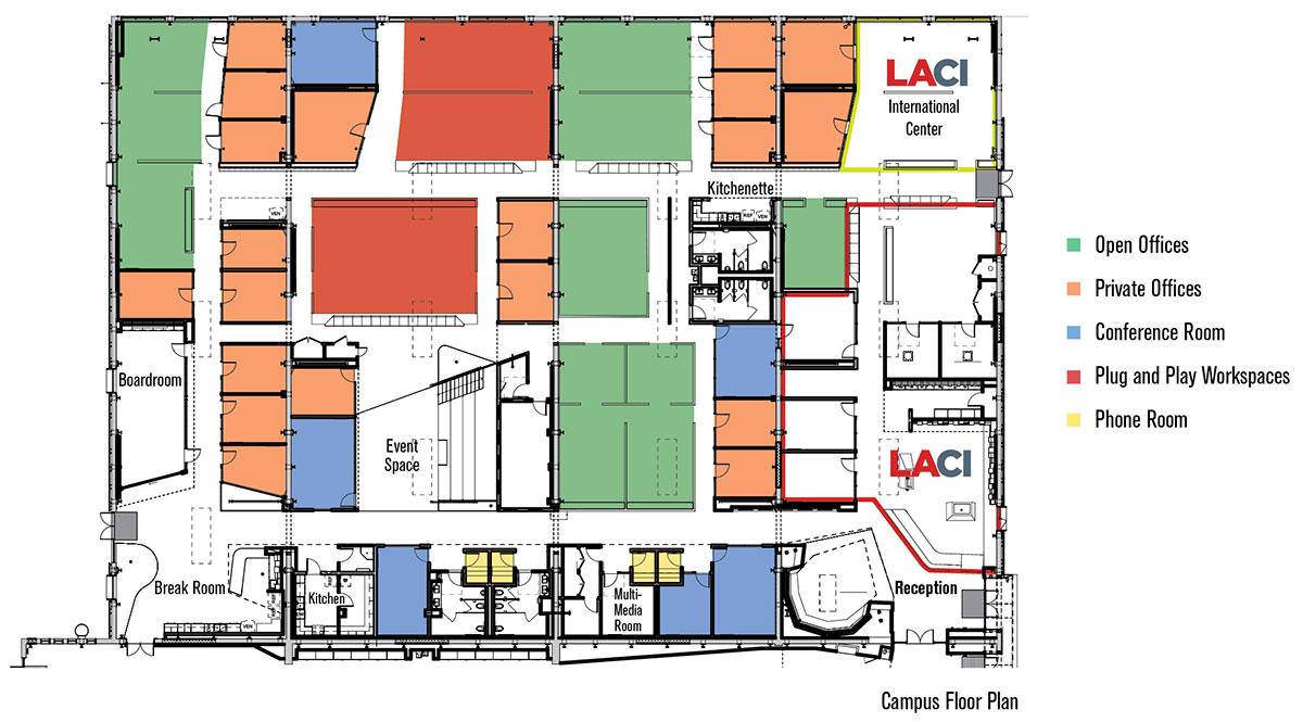Laci La Kretz Innovation Campus