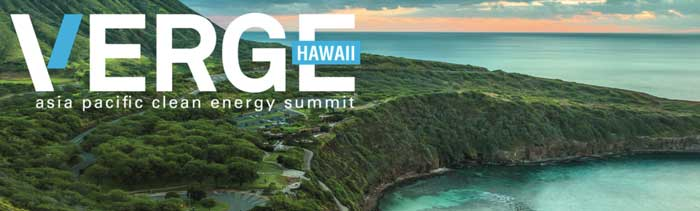 Verge Hawaii Asia Pacific Clean Energy Summit